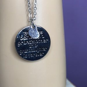 Jewelry - New silver grandmother/grandmother necklace